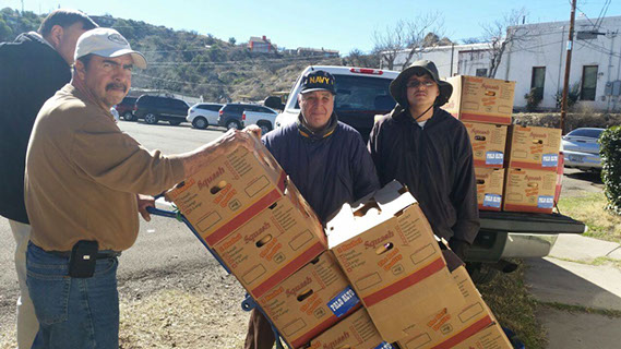 Sykes Company food donation