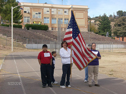 An example of Title VI, we joined in the Special Olympics in Nogales